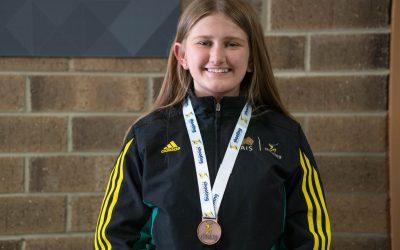Read about Olympic Rifle Athlete Katarina Kowplos