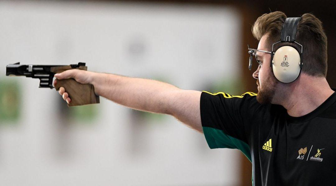 Read about Olympic Pistol Athlete Sergei Evglevski